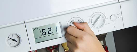 Verwarmingsketel installatie